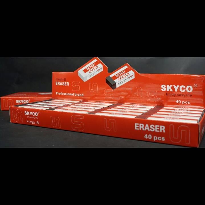 Penghapus / Stip / Eraser Skyco Fresh B Per Box3