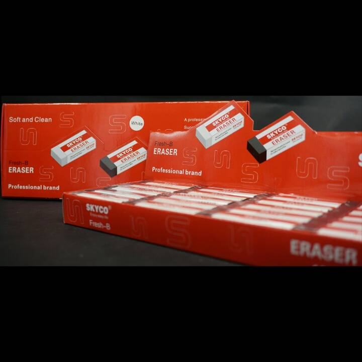 Penghapus / Stip / Eraser Skyco Fresh B Per Box4