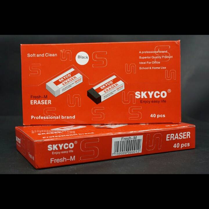 Penghapus / Stip / Eraser Skyco Fresh M Per Box4
