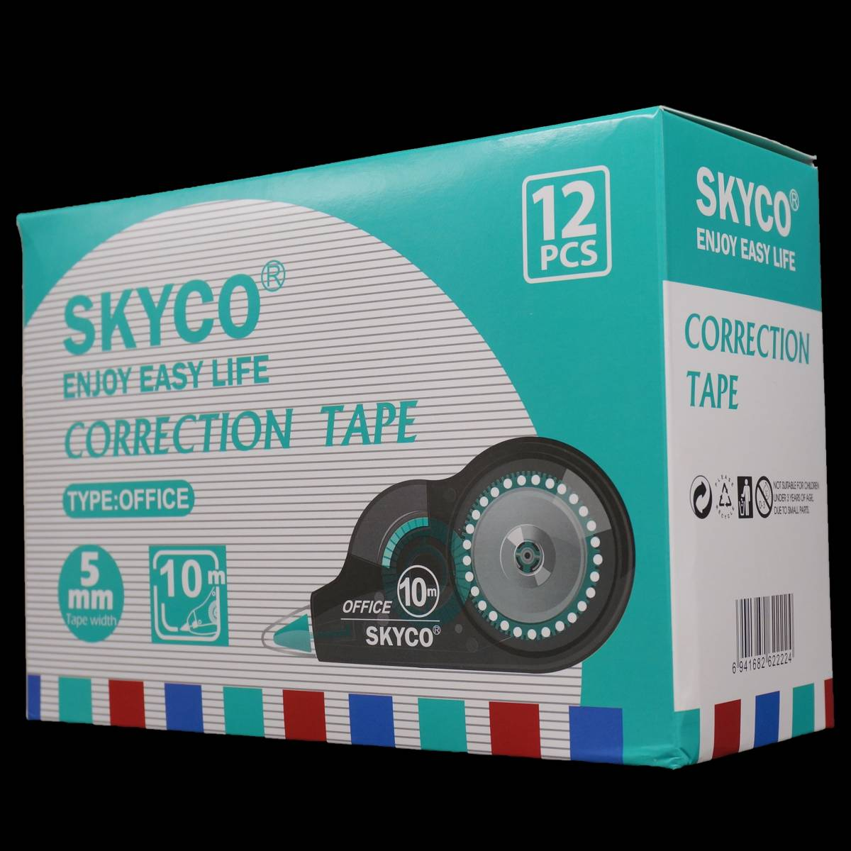Correction Tape Skyco Office Per Lusin