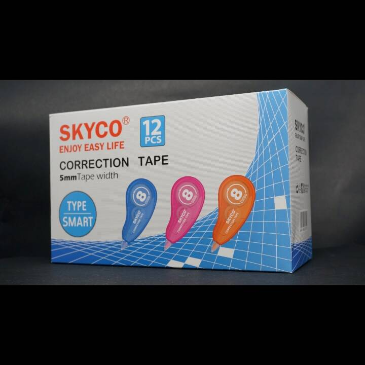 Correction Tape Skyco Smart Per Lusin