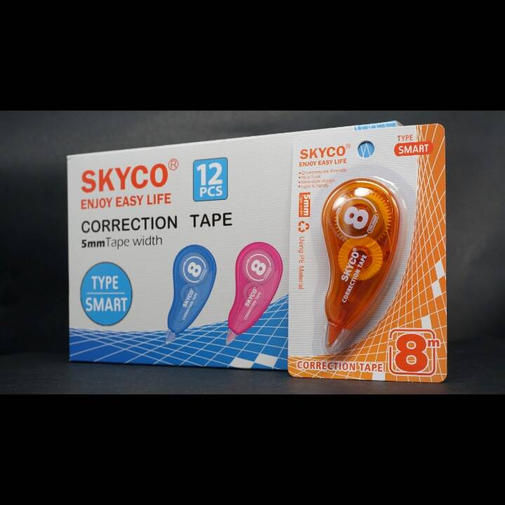 Correction Tape Skyco Smart Per Lusin2