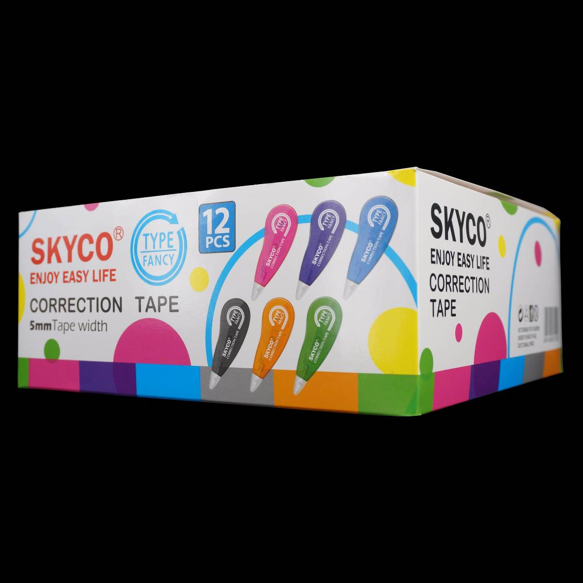 Correction Tape Skyco Fancy Per Lusin