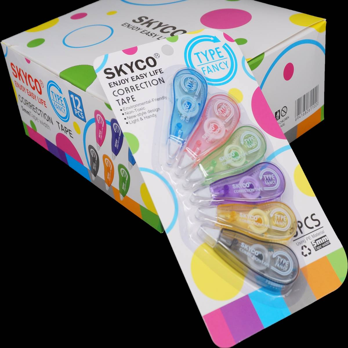Correction Tape Skyco Fancy Per Set1