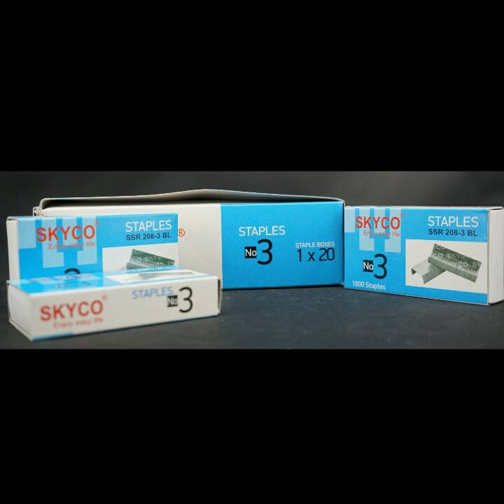 Staples Skyco Ssr 208-03 No.03 Per Box