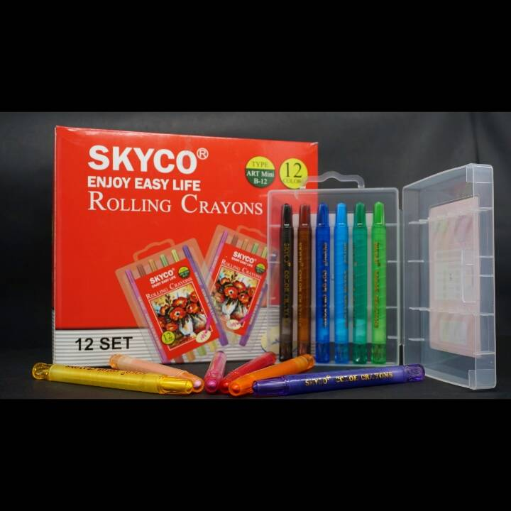 Crayons / Rolling Crayons Skyco Art Mini B-12