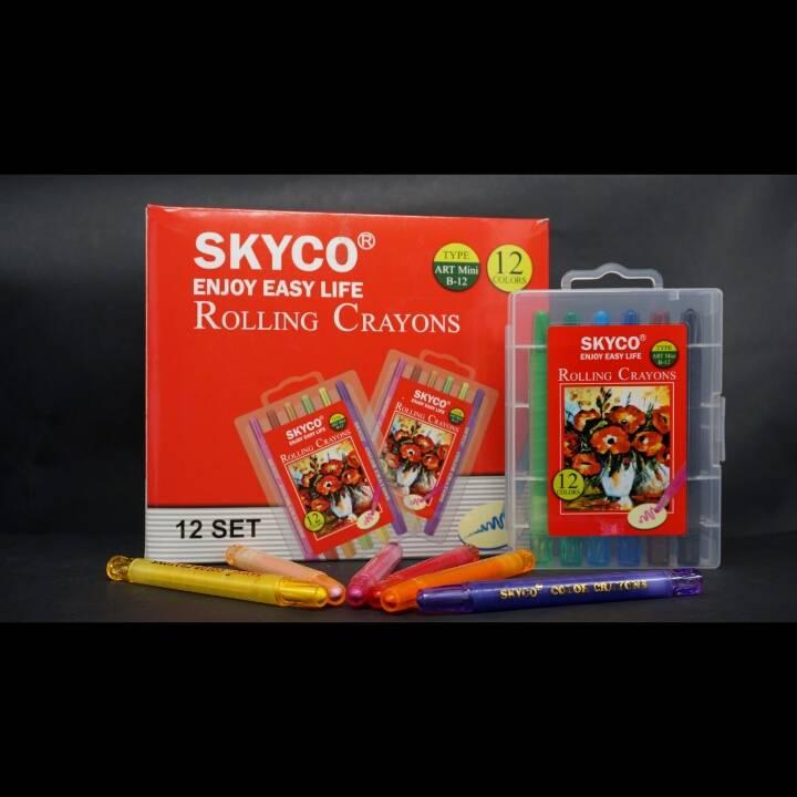 Crayons / Rolling Crayons Skyco Art Mini B-121