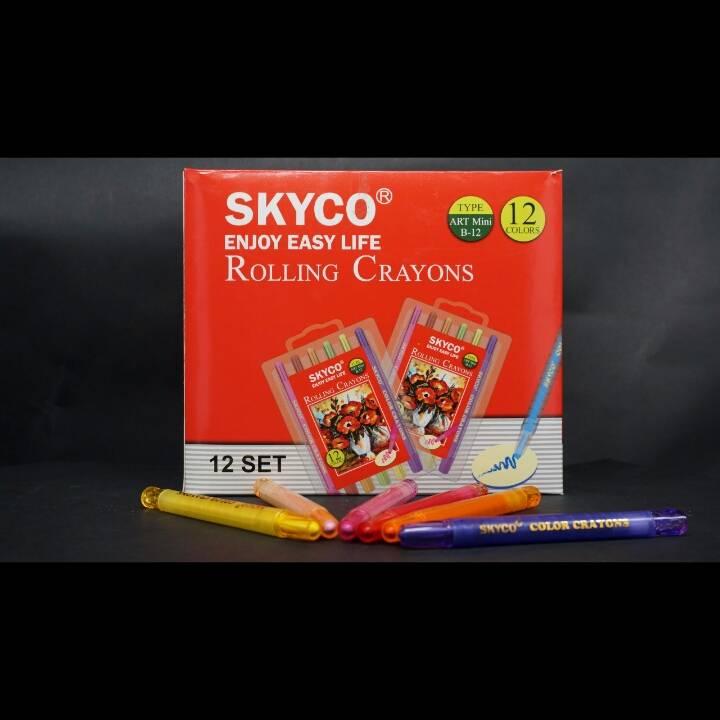 Crayons / Rolling Crayons Skyco Art Mini B-122