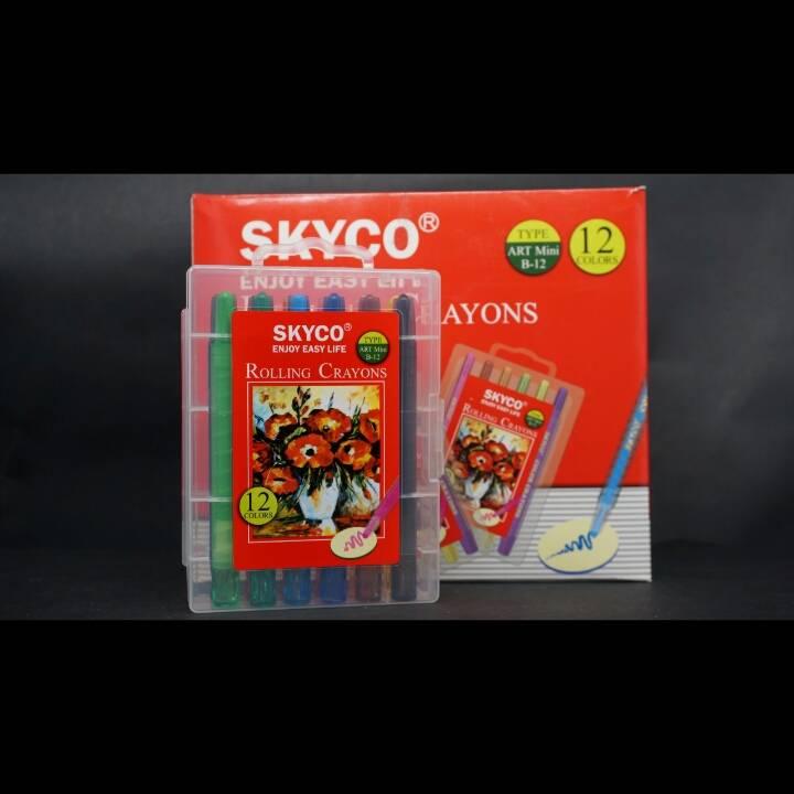 Crayons / Rolling Crayons Skyco Art Mini B-124