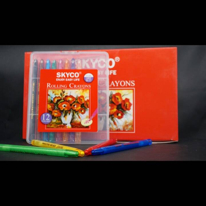 Crayons / Rolling Crayons Skyco Art B-122