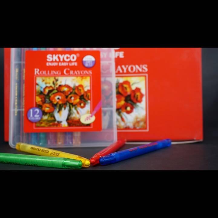 Crayons / Rolling Crayons Skyco Art B-124