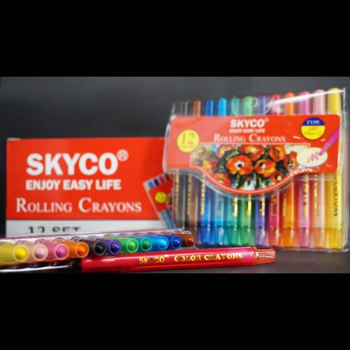 Crayons / Rolling Crayons Skyco Art Mini 12
