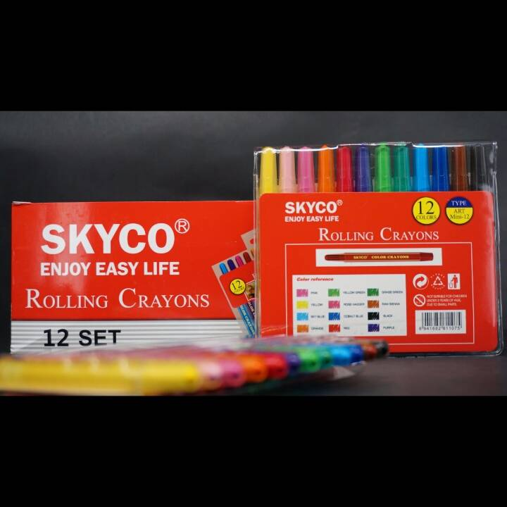 Crayons / Rolling Crayons Skyco Art Mini 121