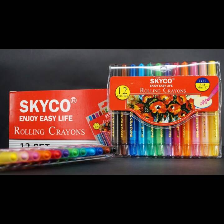 Crayons / Rolling Crayons Skyco Art Mini 122