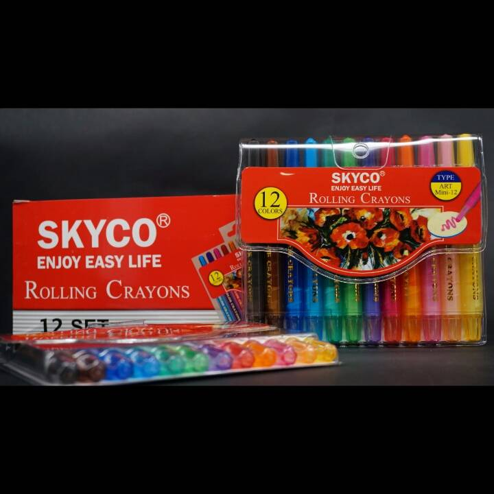 Crayons / Rolling Crayons Skyco Art Mini 123