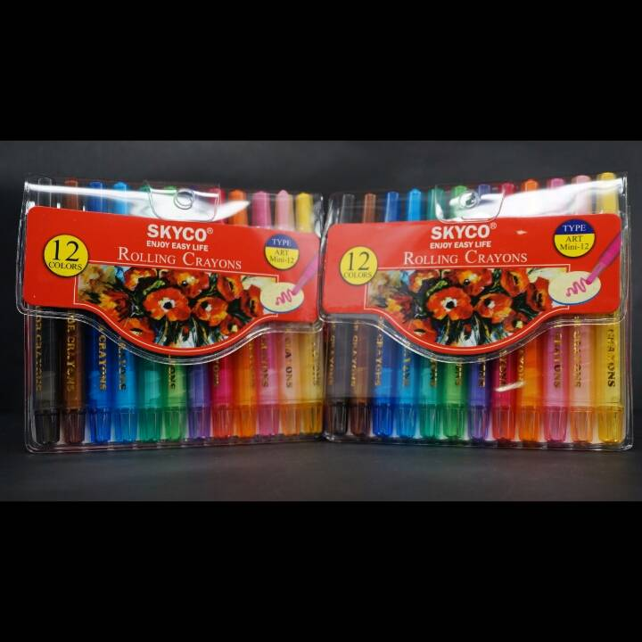 Crayons / Rolling Crayons Skyco Art Mini 124