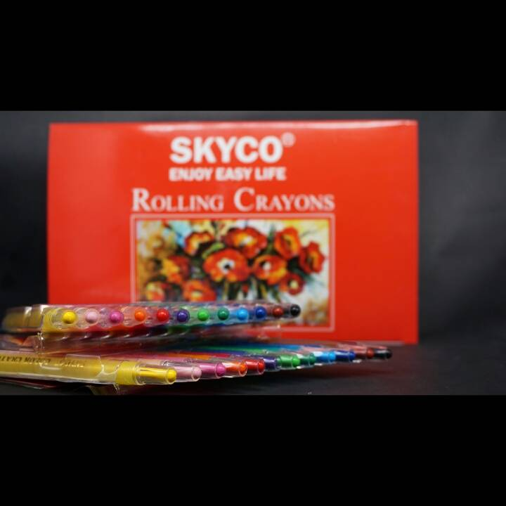 Crayons / Rolling Crayons Skyco Art-12