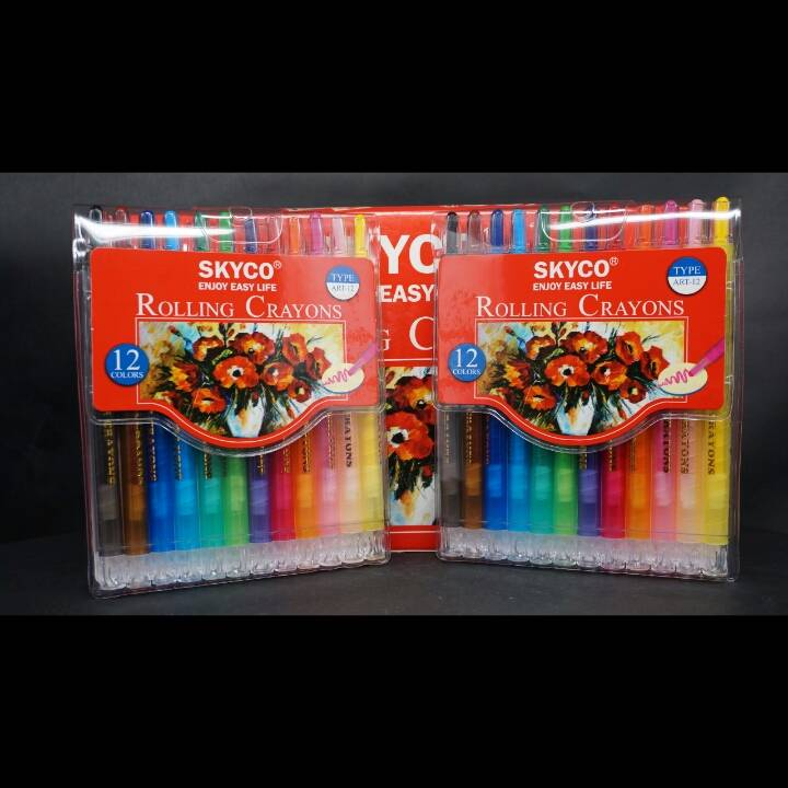Crayons / Rolling Crayons Skyco Art-122