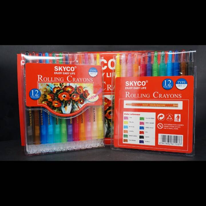 Crayons / Rolling Crayons Skyco Art-123