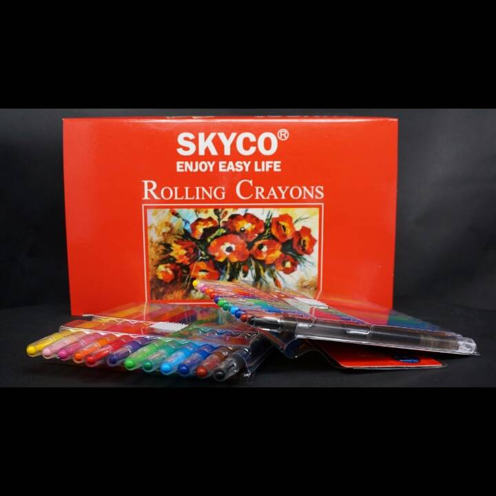 Crayons / Rolling Crayons Skyco Art-124