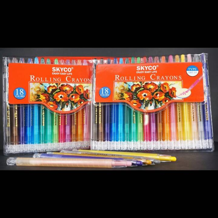 Crayons / Rolling Crayons Skyco Art-18
