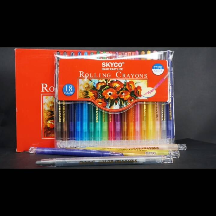 Crayons / Rolling Crayons Skyco Art-182