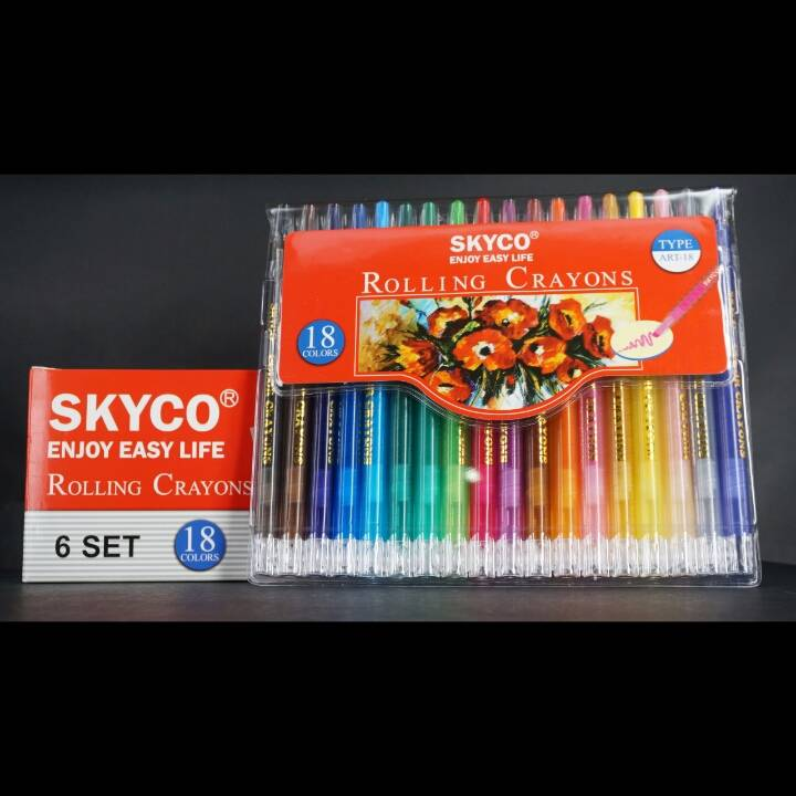 Crayons / Rolling Crayons Skyco Art-184