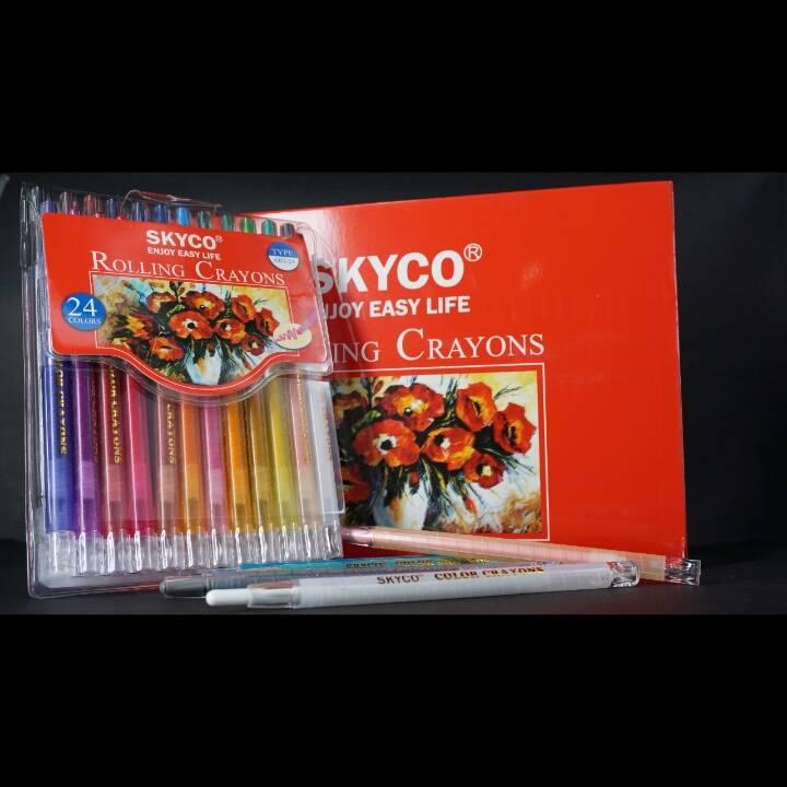 Crayons / Rolling Crayons Skyco Art-241