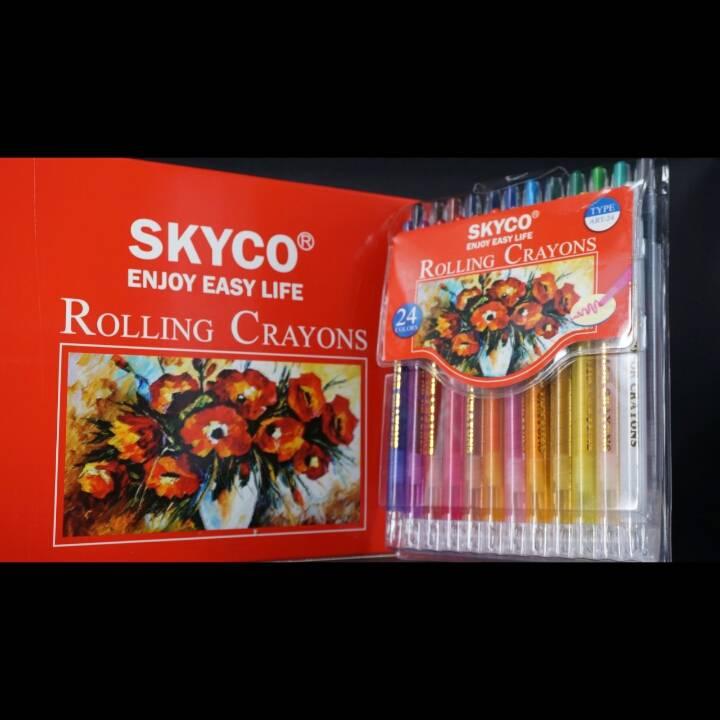 Crayons / Rolling Crayons Skyco Art-242