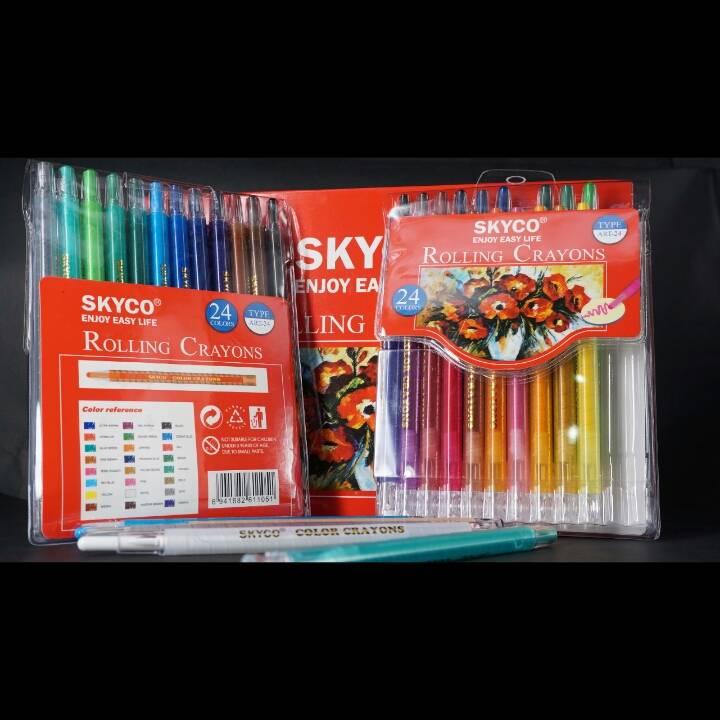 Crayons / Rolling Crayons Skyco Art-244