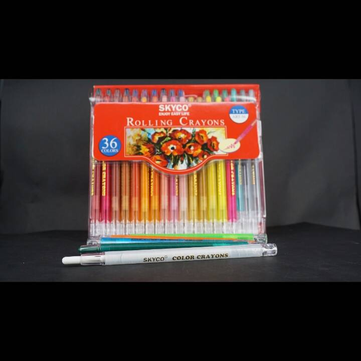 Crayons / Rolling Crayons Skyco Art-363