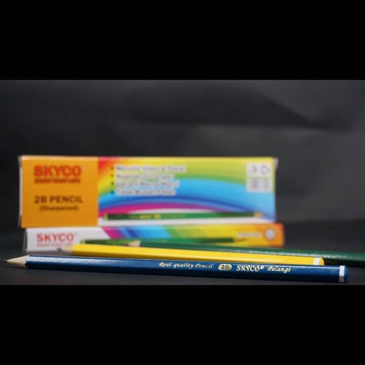 Pensil / Pencil Skyco Pelangi 2b Per Lusin3