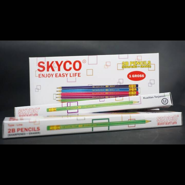 Pensil / Pencil Skyco Line 2b Per Lusin