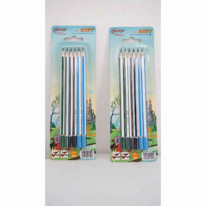 Pensil / Pencil Skyco Best 2b Per Set1