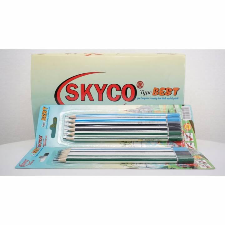 Pensil / Pencil Skyco Best 2b Per Lusin4