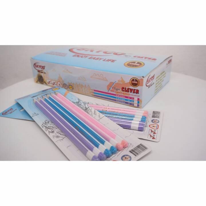 Pensil / Pencil Skyco Clever 2b Per Set3