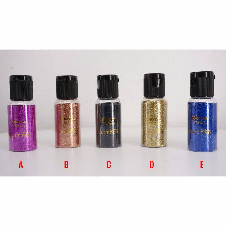 Bubuk Glitter Skyco Metalic Kecil Per Box