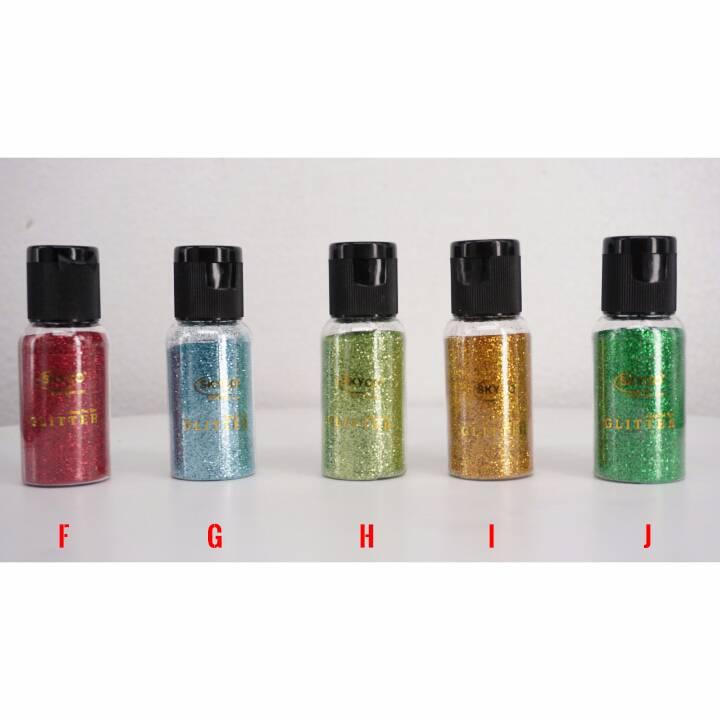 Bubuk Glitter Skyco Metalic Kecil Per Pcs1