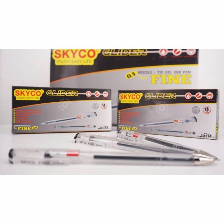 Pulpen / Pen Skyco Fine Black Per Lusin New Arrival !!!2