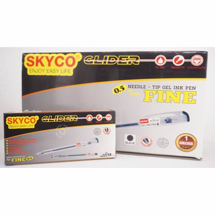 Pulpen / Pen Skyco Fine Black Per Gross (new Arrival !!!)2