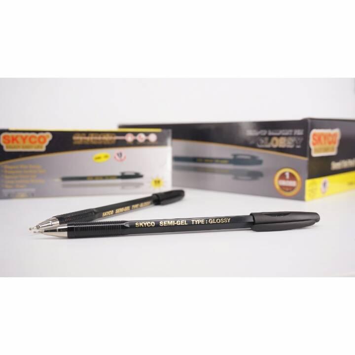 Pulpen / Pen Skyco Glossy Black Per Lusin (new Arrival !!!)1