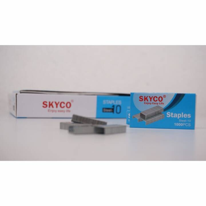 Staples Skyco Steel -10 Nomor 10 Per Box (new Arrival !!!)