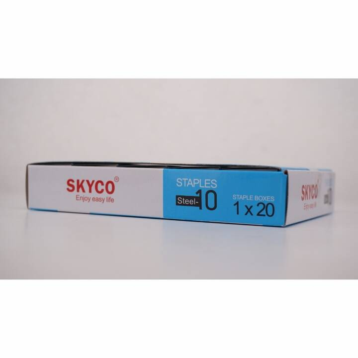 Staples Skyco Steel -10 Nomor 10 Per Box (new Arrival !!!)1
