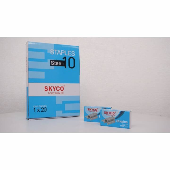 Staples Skyco Steel -10 Nomor 10 Per Box (new Arrival !!!)2