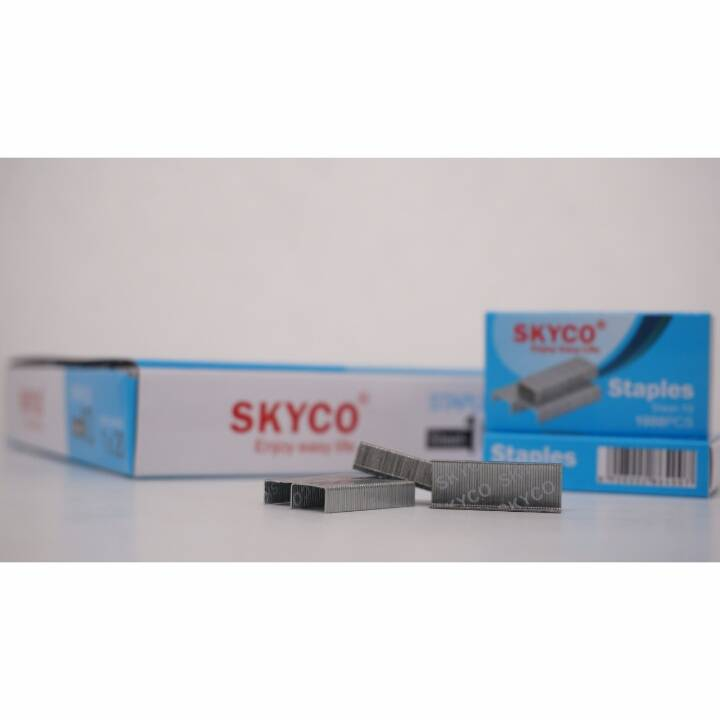 Staples Skyco Steel -10 Nomor 10 Per Box (new Arrival !!!)3