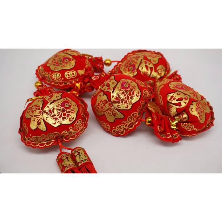 Aksesori Imlek / Hiasan Chai Sen Bag 5 / Gantungan Motif Imlek