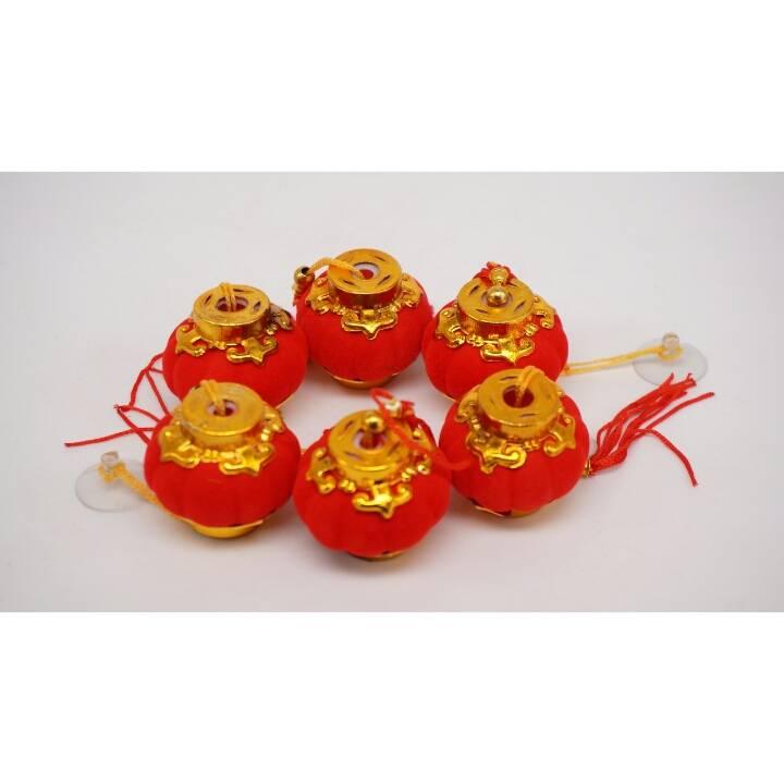 Hiasan Lampion 4 Inci / Chinese Lampion Set 4 Inci