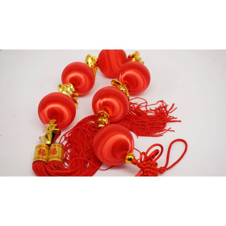 Chinese Lantern Set Small / Hiasan Imlek Lampion Kecil