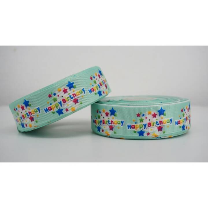 "Pita Happy Birthday 1"" Grosgrain"