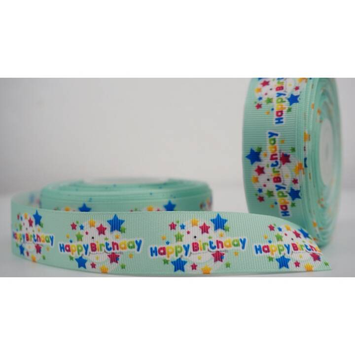 "Pita Happy Birthday 1"" Grosgrain2"